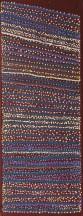 Shorty Jangala Robertson Ngapa Jukurrpa (Water Dreaming) - Puyurru 2010 acrylic on linen 122 x 46 cm 4466/10