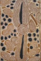 Ningura Napurrula Ngaminya ASAANN2074 2007 154x88cm Acrylic paints on linen