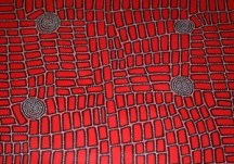 Walala Tjapaltjarri Tingari Story ASAAWT1195 150x120cm Acrylic paints on linen SOLD