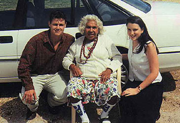 Queenie Mckenzie Nakarra, Adam and Amanda Knight