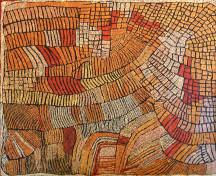 Naata Nungurrayi Marrapinti ASAANN2015 2007 210x180cm Acrylic paints on linen