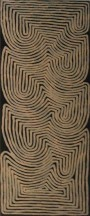 Ronnie Tjampitjinpa Water Dreaming 45x121cm Acrylic paints on linen SOLD