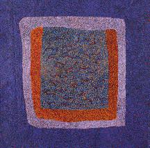 Josie Petrick Bush Berry Dreaming ASAAJP2355 2007 119x119cm Acrylic paints on linen